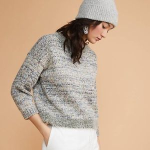Lou & Grey Toasted Sweater Metallic Knit Eyelash